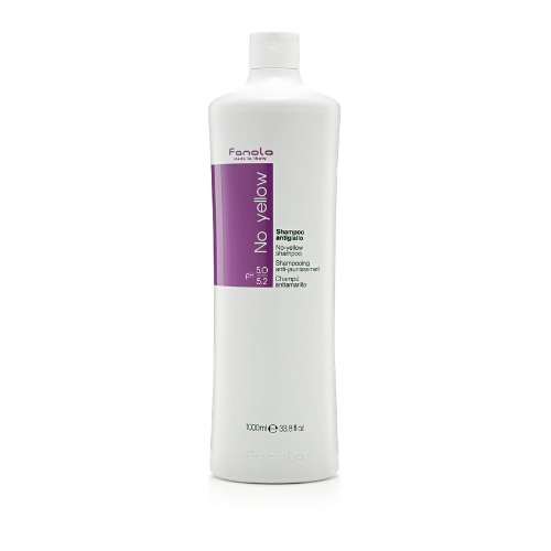 Fanola No Yellow Shampoo 1000ml - Haircare Heaven - Fanola Shampoo